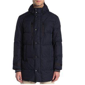 Michael Kors Front Zip Hooded Coat